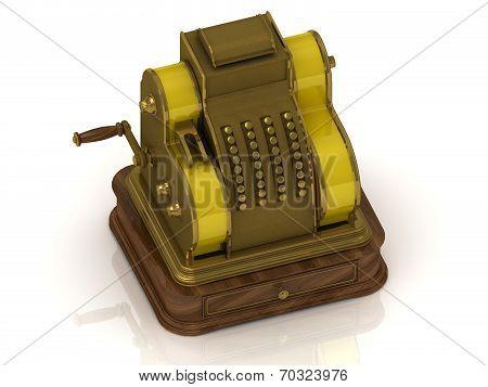 Old Golden Cash Register