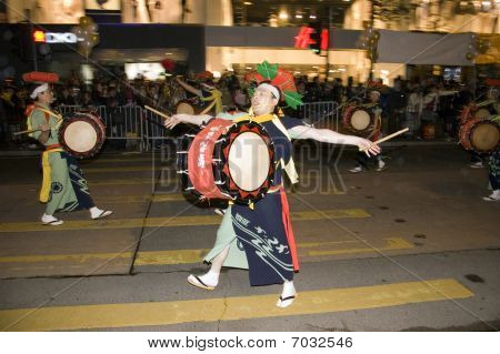 Hong Kong - New Year Parade