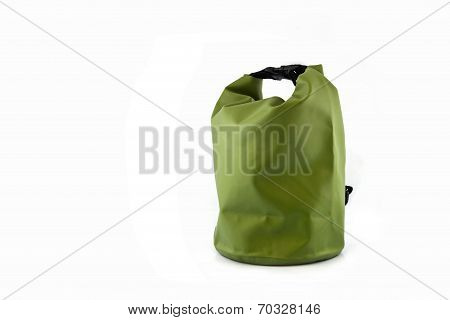 Waterproof Bag Isolated On White