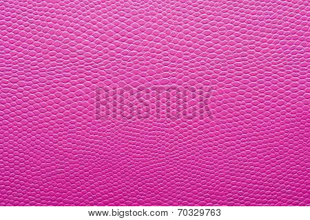 Texture Of Pink Imitation Leather