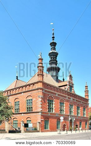 Old Town Hall In Gdansk, Poland