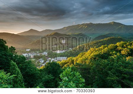 Gatlinburg Tennessee Great Smoky Mountain Sunrise
