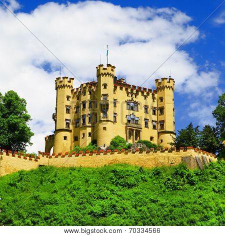 castles of Bavaria - Hohenschwangau, Germany
