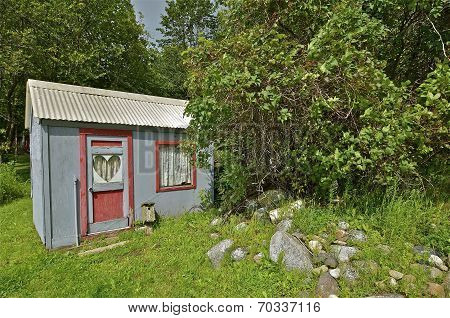 Love Shack in the Woods