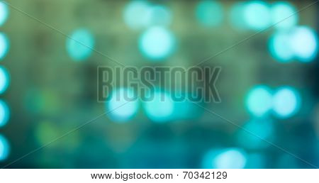 Bokeh Blurred Out Of Focus Background