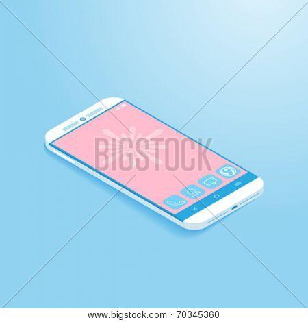 Isometric Smartphone