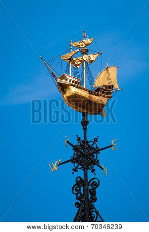 Golden Wind Vane
