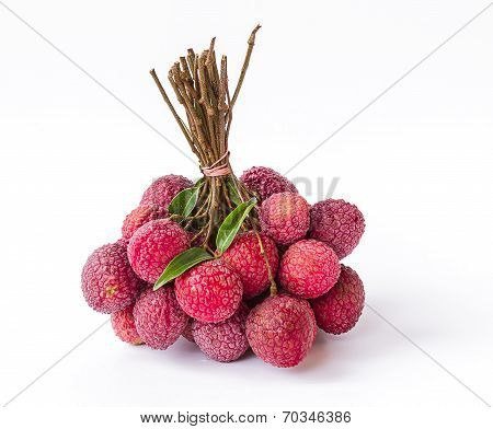 Ripe Fruit Of The Lychee