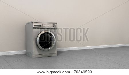 Washing Machine Empty Single