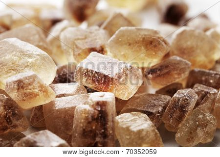 Chrystals of Candi Sugar / Rock Sugar.