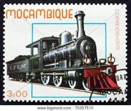 Postage Stamp Mozambique 1979 Historic Locomotive