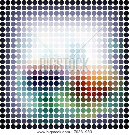 Design background. Abstract raster illustration.