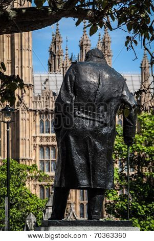 Big Ben and Winston Churchill