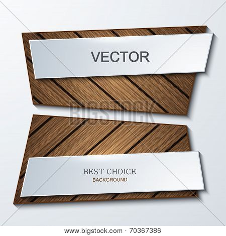 Vector moder banners element design.