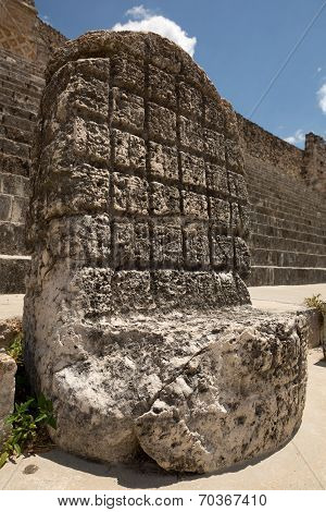 An Ancient Mayan Throne