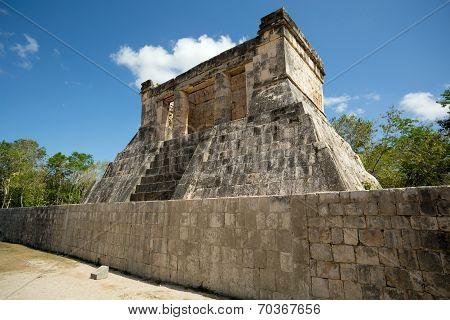 Small Mayan Temple
