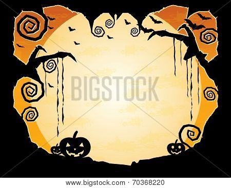 Halloween Grungy Background
