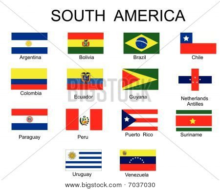 Vector Flags of countries