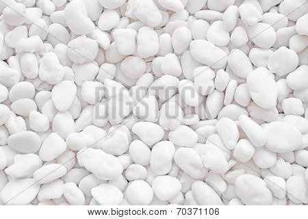 White Rock Pebbles