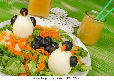 Penguin Salad