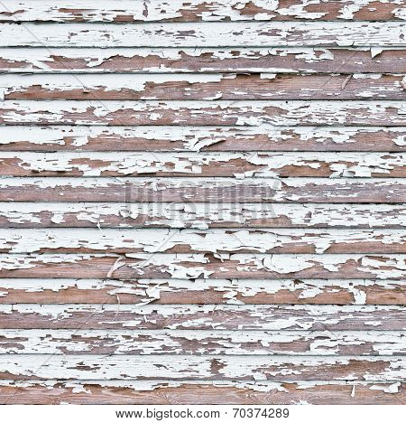Old white weathered wooden background