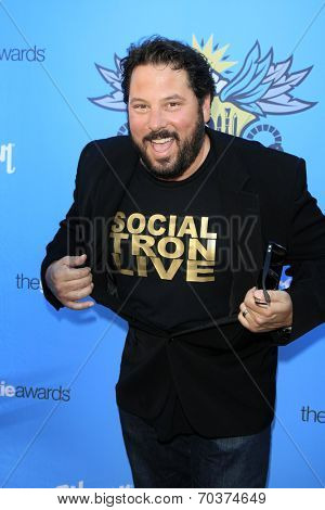 LOS ANGELES - AUG 17:  Greg Grunberg at the 2nd Annual Geeky Awards at Avalon on August 17, 2014 in Los Angeles, CA