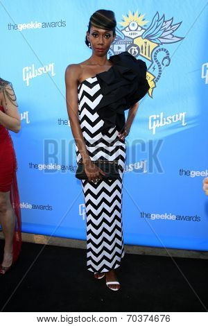 LOS ANGELES - AUG 17:  Joy Donnell at the 2nd Annual Geeky Awards at Avalon on August 17, 2014 in Los Angeles, CA