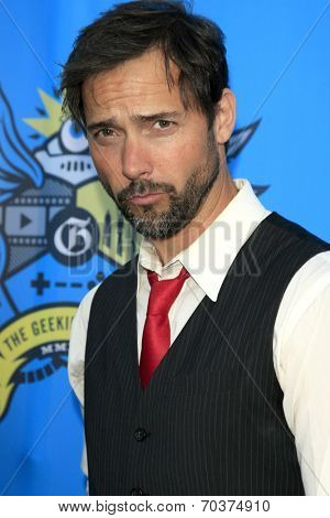 LOS ANGELES - AUG 17:  Andrew Bowen at the 2nd Annual Geeky Awards at Avalon on August 17, 2014 in Los Angeles, CA