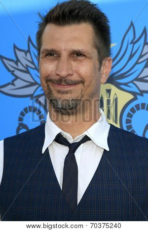 LOS ANGELES - AUG 17:  Lucky Yates at the 2nd Annual Geeky Awards at Avalon on August 17, 2014 in Los Angeles, CA