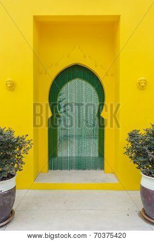 walkway morroccan style