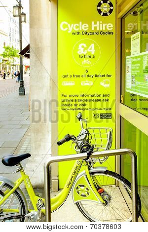 Nottingham City Council Cycle Hire
