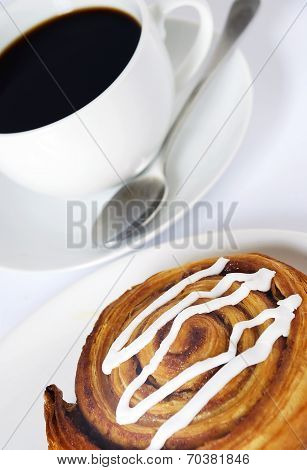 Coffee And Danish Pastry