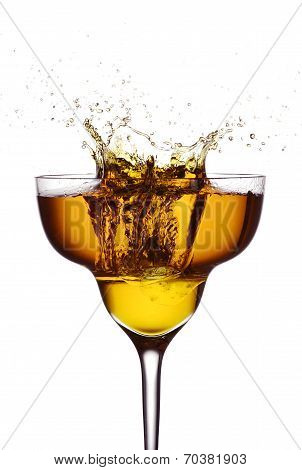 Cocktail Ice Splash