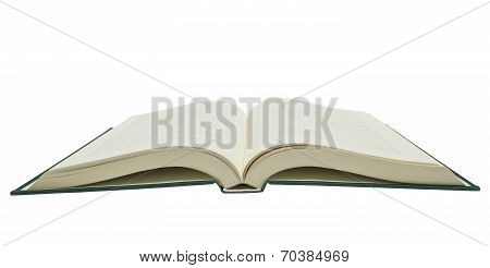 Big Opened Book Isolated