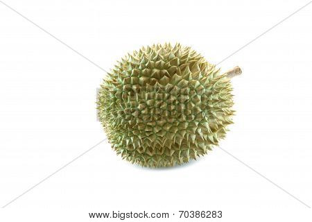 Durian Of Tropical Fruit In Thailand.