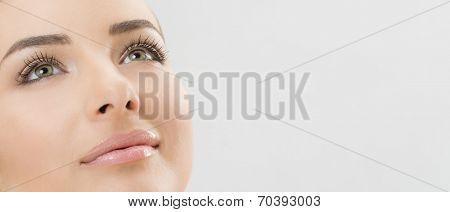 Nice woman face