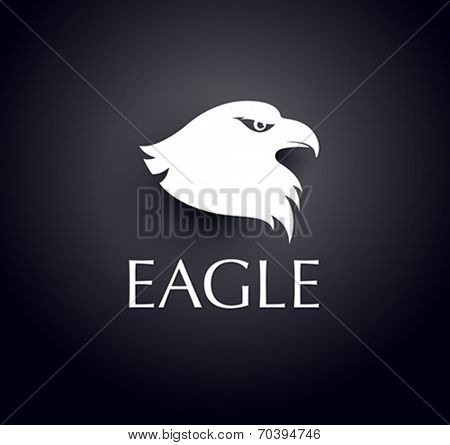 vector eagle head icon