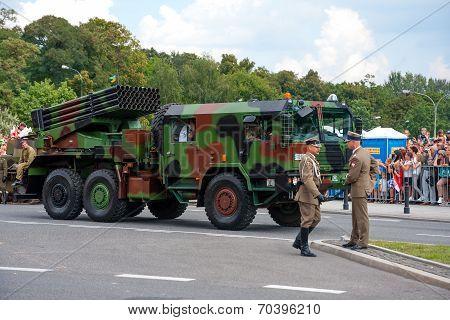 Langusta Rocket Launcher Wr-40