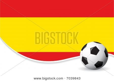 Spain football background
