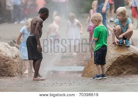 Children At Iowa State Fair