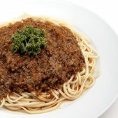 beef spaghetti poster