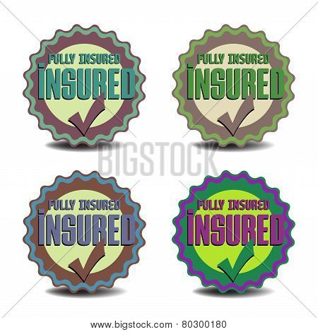 Insured badges