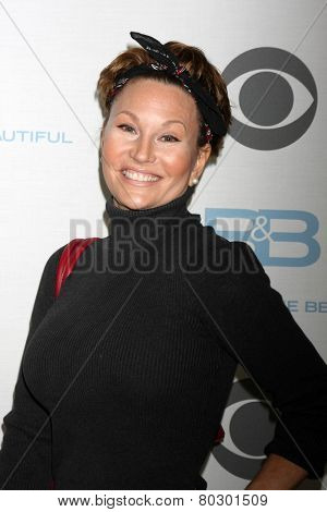 LOS ANGELES - JAN 14:  Schae Harrison as the  Bold and Beautiful Celebrates 7000th Show at a CBS Television City on January 14, 2015 in Los Angeles, CA