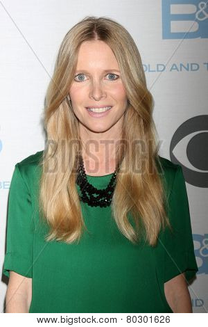 LOS ANGELES - JAN 14:  Lauralee Bell as the  Bold and Beautiful Celebrates 7000th Show at a CBS Television City on January 14, 2015 in Los Angeles, CA