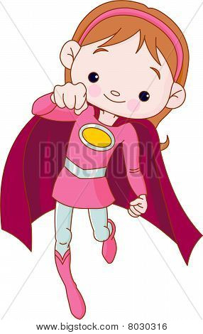 Super hero chica
