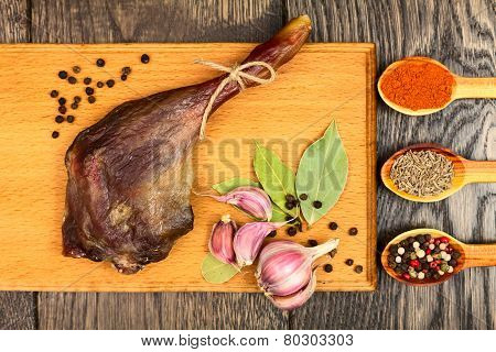 Dried Duck Meat