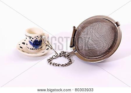 Tea-strainer.