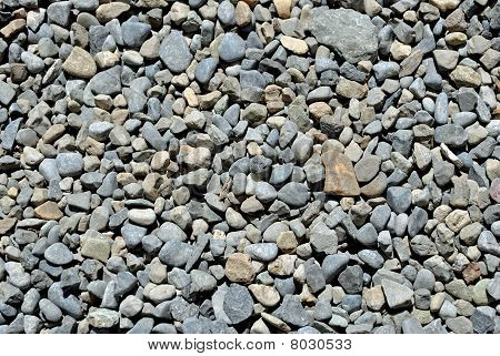 background natural stone gravel