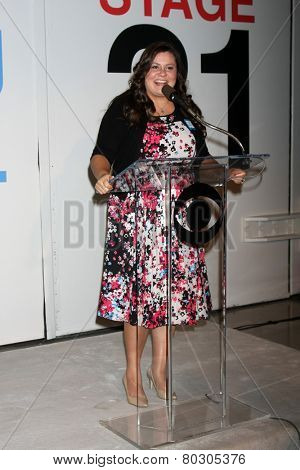 LOS ANGELES - JAN 14:  Angelica McDaniel as the  Bold and Beautiful Celebrates 7000th Show at a CBS Television City on January 14, 2015 in Los Angeles, CA
