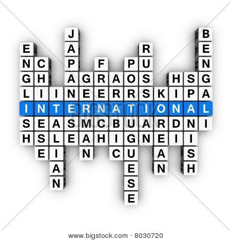 Multilingüe del concepto